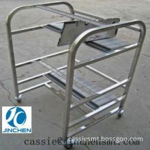 JUKI SMT Feeder Cart / SMT Chip Mounter Feeder Trolley Storage Cart For SIEMENS X Machine