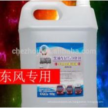 Solución de urea: líquido de escape diesel