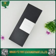 Cajas de regalo de la pluma negra clásica al por mayor