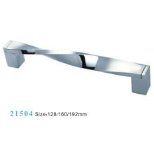 Zink-Legierung Möbel Hardware Pull Schrank Griff (21504)
