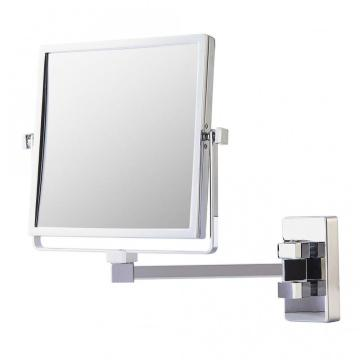 Double side wall square makeup mirror