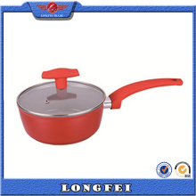 China Supplier Best Selling Products Sauce Pan with Glass Lid