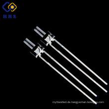 1,8 mm Weiß durch Loch Wasser klar DIP LED-Diode