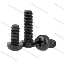 Tornillos de nylon negro Phillips M3x6mm