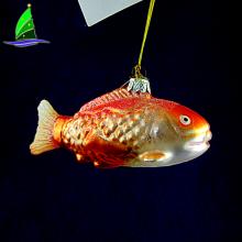 Украшение дома Рыба Стиль Подвеска из стекла Украшение ручной работы