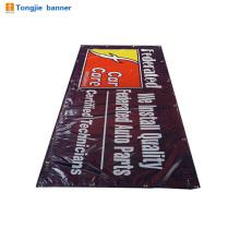 Banner impresso de formato grande a longo prazo