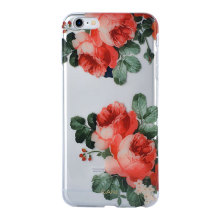 Wholesale Mobile Accessories Flower IMD TPU IPhone6 Plus Cove