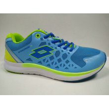 Bright Color Blue Outdoor Gym Shoes Jogging Footwear