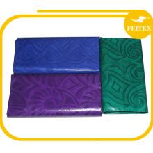 FEITEX moda hecha a mano Ghalila Guinea africana brocado bordado de tela de algodón Bazin Riche Wedding Party Garment