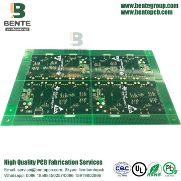 Best Quality for Half Hole High-Precision Multilayer Board 4 Layers High Precision Multilayer PCB IT180 supply to Japan Factories
