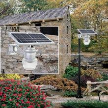 Solar Apple / Peach Street Light todo en uno para jardín
