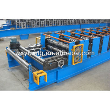 YD-000403 High Quality 15-30KW and 0.7-1.5 mm Metal Deck Forming Machine with Hydraulic Automatic Cutting Unit