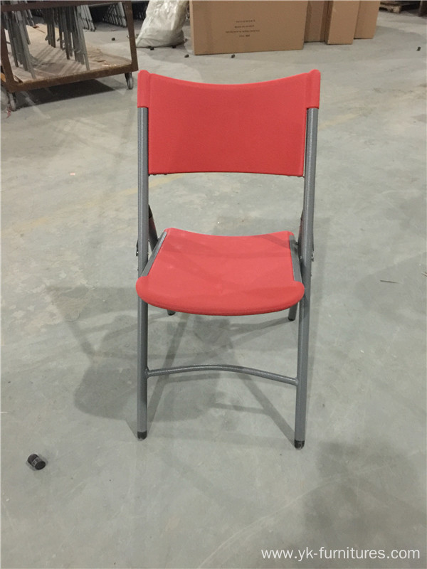 colorful metal plastic folding chairs china