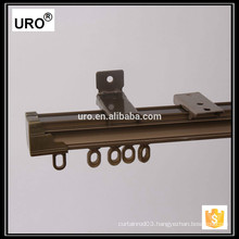 flexible metal aluminium curtain track