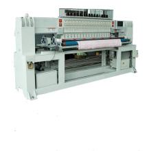 Linha de fábrica dupla shandong shuttle multi agulha acolchoado máquina de bordar