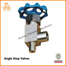 Angle Stop Valves for Mud Pump