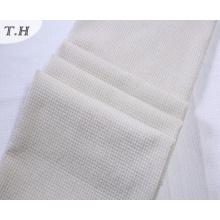 Fabricants de tissu de lin couleur blanche pour la chaise et les meubles