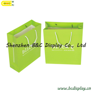 Paper Gift Bag, Paper Hand Bag, Gift Designer Paper Handbags with Long Rope (B&C-I027)