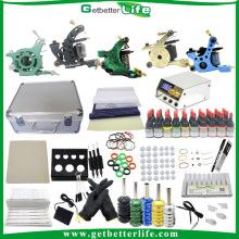 Vendre toutes les 5 Machines Kit 40 encre Set Power Supply libre Kits de tatouage avec cadeaux gratuits
