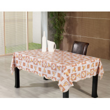 PVC Printed Tablecloth with Nonwoven Backing (TJ0084B)