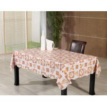Toalha de mesa impressa de PVC com apoio não tecido (TJ0084B)