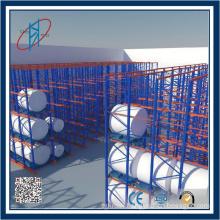 Steel Drive In Warehouse Pallet Rack