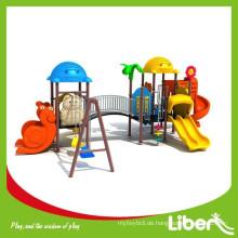 LLDPE Typ Neuartiges Design Plastik Outdoor Spielplatz / Kindergarten Spiel Structure / Outdoor Dschungel Gym