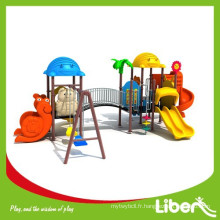LLDPE Type Novel Design Plastic Outdoor Playground / Kindergarten Play Structure / Outdoor Jungle Gym