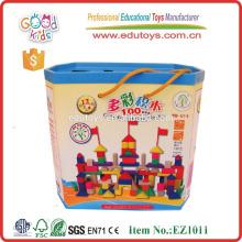 Agua amigable de los niños basada en la pintura 100pcs Building Blocks