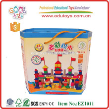 Kids Friendly Water Based Painting 100pcs Building Blocks