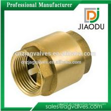 Preço de fábrica forjado cw617n macho threaded1 / 4 polegadas fácil instalação latão válvula de retenção para bomba de cárter 10 polegadas
