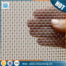 Malla de alambre tejida de malla de alambre profesional de níquel de fábrica para el cátodo de electrolizadores