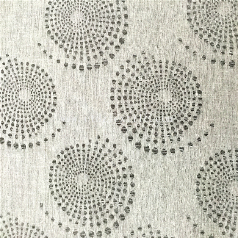 6015 New Grey Color American Prefer Linen Style 100% Polyester Piece Dyed Curtain Fabric