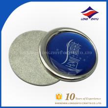Kundenspezifisches silbernes Namensschild mit Fabrikpreis, hergestellt in China