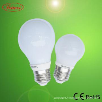 6W 5W LED ampoule à baïonnette
