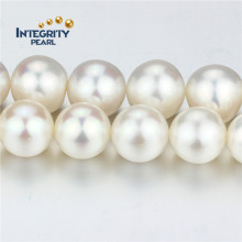 Perle d'eau douce naturelle AAA Near Roundnear 12mm Large Pearl Strand