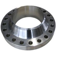 Flange de pescoço de solda de aço carbono de aço inoxidável