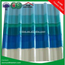 Folha de telhadura Mgo de bloqueio UV transparente