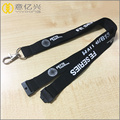 Custom pocket cheap price black man lanyard