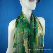 Bufanda de seda de gasa para la señora
