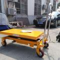 700kg Hydraulic Single Scissor Lift Hand Pallet Truck