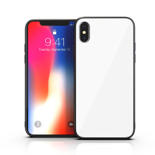 Custodia posteriore in vetro temperato 9H per iPhone X
