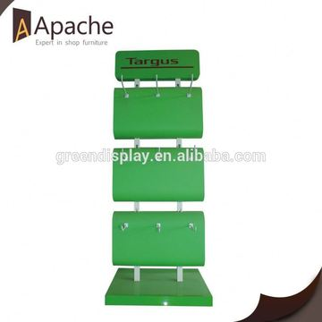 Competitive price plastic bag acrylic single shoe display stand