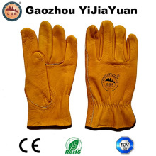 Top Grain Cowhide Leather Drivers Work Gloves