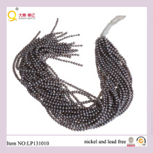 4-5mm Gray Potato Freshwater Pearl Lose Pearl Strings