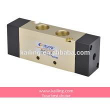 Válvula solenoide de la serie 4V400, válvula de control neumática, tipo de la guía interna