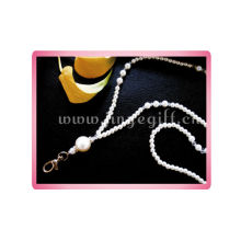 Lovely Crystal beeds& Pearl KeyChain Cryatal Charm Amazing Keychains