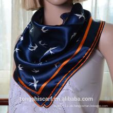 Neuestes modisches Tier druckte quadratischen Schal und heißen verkaufenden Schal