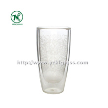 Двухстенные стеклянные бутылки от BV. SGS