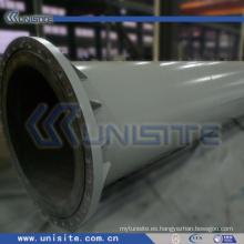 Tubo estructural de acero de la draga con las bridas (USC-4-014)